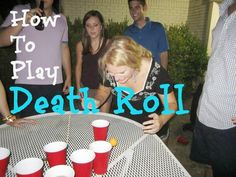 How to play Death Roll - a fun drinking game!