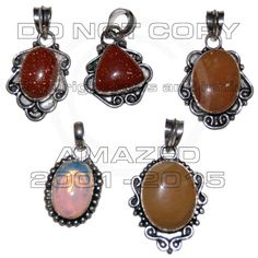 92.5 Sterling Silver Certified Handmade Best Quality Silver wholesale pendant clearance lots.with Yellow Chalcydony, Opal, Corolian, Sunstone and other stone agate, jasper.Given weight is approx.