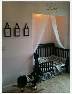 Cute idea for a little baby-room