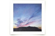 Winter Sunset Art Prints by Kristiina Almy at minted.com