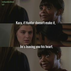 "#RedBandSociety 1x11 ""The Guilted Age"" - Kara and Nurse Jackson"