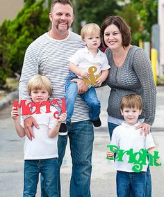 Another great find on #zulily! Merry & Bright Holiday Photo Prop #zulilyfinds