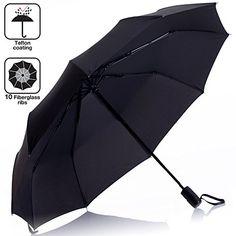 Custom Jesus Compact Travel Windproof Rainproof Foldable Umbrella