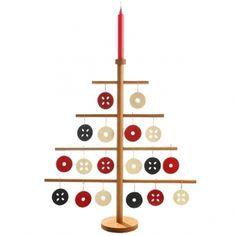 Joulupuu kynttilänjalka