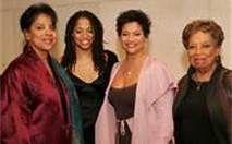 Vivian Ayers Allen with daughters Phylicia Rashad and Debbie Allen; and granddaughter Condola Rashad.