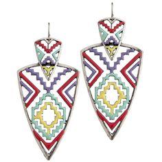 GYPSY SOULE - Women's Gypsy Soule Aztec Earrings - NRSworld.com