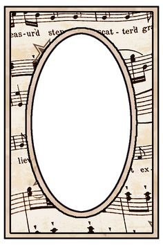 ArtbyJean - Vintage Sheet Music: Set 003 - Vintage Sheet Music Free Clipart Biege Tan - Greeting Card Backgrounds