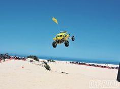 California - Oceano Dunes Off-Road Sand Rail Jump.