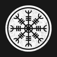 """The arms of the symbol resembled the Z rune. Though the original name of the rune remained a mystery, many materials give it the name of """"Algiz"""". Actually, this runic letter was used for protection from the foes and the defense for the beloved ones. The lines that were perpendicular to the arms of the symbol might have been the Isa runes. This rune meant """"ice"""" though the main power of it was unknown. Runes Meaning, Viking Symbols, Viking Age, Vikings, Lettering, History, Warriors, Mandala, Spiritual"""