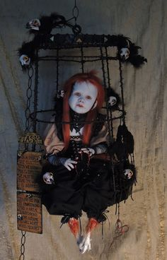 Haunting Taxidermy Doll Sculptures by Stefanie Vega Make The Perfect Halloween Post.  If It's Hip, It's Here: October 2013