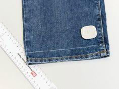 DIY-Anleitung: Jeans kürzen via DaWanda.com