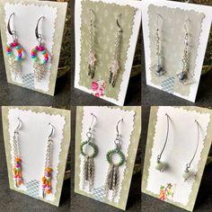 Wenn es regnet lässt sich gut arbeiten... Habe für euch viele neue Ohrringe gemacht - mag mich kaum trennen von einigen der Schätzchen. 🥰 #becreative #rainyday #earrings #jewelry #diyjewelry #handmade #schmuck #jewelry #ohrringe #earring #boho #bohochic #bohemian #fashion #style #springtime #springcollection #summer #summercollection #beunique #unikat #unique #thecraftycrab #craftycrabcrafts #handmade #handgemacht #swissmade #love #lovehandmade #buyhandmade #beautiful #❤️ Bohemian Fashion, Boho, Arrow Necklace, Crafty, Summer, Beautiful, Jewelry, Instagram, Ear Piercings