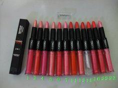 MAC Lady Gaga Waterproof Lip Gloss Maximum Pro Vitamin Lipstick 2 In 1 [MAC Makeup Lip Gloss 016] - $3.58 : Cheap Wholesale Makeup