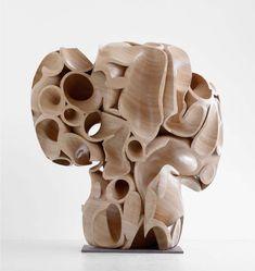 Modern Art Sculpture, Wood Sculpture, Famous Art, 3d Artist, Art Of Living, Contemporary Art, Abstract Art, Illustration Art, Artwork