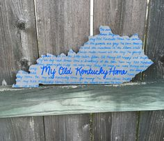 My Old Kentucky Home- Kentucky Tradition! #bluecutcreations #etsy
