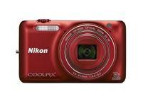 Nikon Coolpix S6600 - Red
