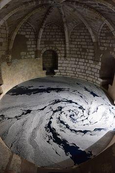 Elaborate Salt Labyrinths by Japanese Artist Motoi Yamamoto