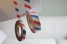 Air mail tape