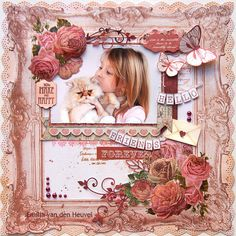Emilia Van Den Heuvel's Gallery with Layouts, Projects and Photos. Bridal Shower Scrapbook, Baby Scrapbook, Scrapbook Paper Crafts, Scrapbook Albums, Scrapbook Cards, Scrapbook Designs, Scrapbook Page Layouts, Scrapbook Supplies, Scrapbooking Ideas