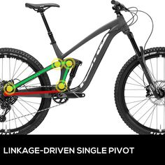 17 best mountain bike parts images mountain bike parts, bicyclingbasic mountain bike suspension designs, explained