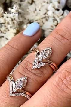 Pear Diamond, Pear Shaped Diamond, Rose Gold Engagement Ring, Diamond Wedding Bands, Chevron, Bridal Fascinator, Married Life, Other Accessories, Blue Sapphire