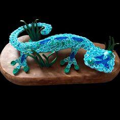 Quilling Paper Gecko - Ginger Evenson Arts