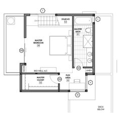 Small Lot House Plans Want To Have A Master Suite That Allows Access To  Bath And