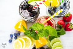 infused-strawberry-and-mint-water
