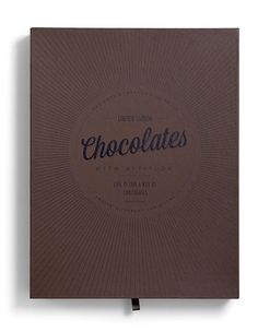 "Coca Luxery Chocolates design and the #packaging were created by  Bessermachen DesignStudio, and the archetypes and the idea were created by Stiig Helgens Binggeli / Brandhouse."" via lovelypackage"