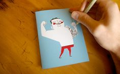 Tattoo it yourself greeting cards