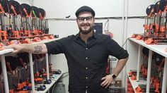 Josef Prusa makes a significant impact by engaging with the 3D printing community, being active on social platforms and attending 3D printing expos...