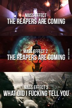 The reapers are coming
