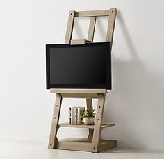 Braque Media Easel...cool way to have a television and storage!
