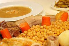 Cocido madrileño#Comida española,#Spain #madrid