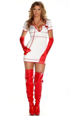 Doctor Love Sexy Nurse Costume