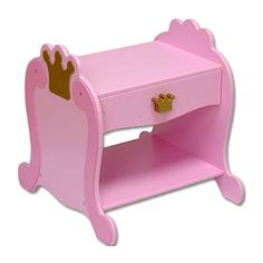 Baby Furniture & Bedding Princess Bedside Table
