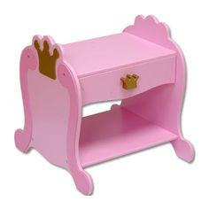 Baby Furniture & Bedding Princess Bedside Table