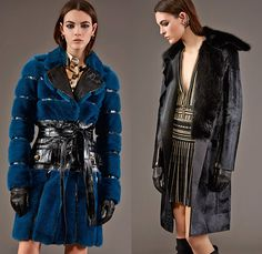 Roberto Cavalli 2015 Pre Fall Autumn Womens Lookbook Presentation - Jeans Rock n Roll Baroque Snake Reptile Python Tiger Pantsuit Blazer Furry Wide Leg Palazzo Pants Culottes Gown Furry Knit Brocade Jacquard Sequins Gown Maxi Dress Flowers Florals Print Graphic Pattern Ornamental Print Sheer Chiffon Blouse Scarf Boots Cap Sleeve Motorcycle Biker Rider Leather Embroidery Jacquard Pleats Drapery Ruffles