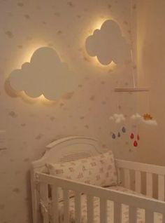 luminária, luminária nuvem, luminária quarto bebe