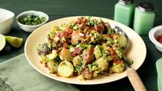 30 Recipes - Step up your avocado game beyond guacamole with these unique recipes for what to make with avocado from Genius Kitchen. Parsley Recipes, Avocado Recipes, Salad Recipes, Guacamole Recipe, Dip Recipes, Avocado Spinach Salad, Blt Salad, Bacon Avocado, Salads