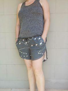 deadlycraft: Named Alexandria Peg Trousers (Shorts) - Pattern Test