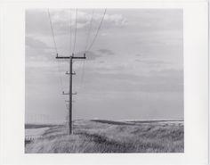 Route U.S. 2, c. 1968. David Plowden. Electric power lines.