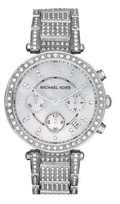 Michael Kors silver bracelet watch