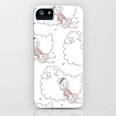 Sleeping creatures iPhone Case
