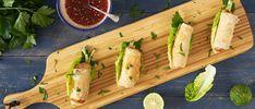 Zalmrolletje met komkommer en Cavi-Art - Dishcover Hi Tea Ideas, Wedding Appetizers, Party Snacks, Dumplings, Starters, Celery, Food Art, Tapas, Sushi