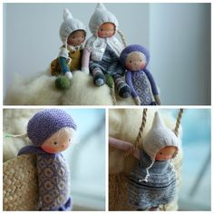 Knitting Patterns Updates from PeperudaKnittedDolls on Etsy Raggy Dolls, Knitted Dolls, Doll Patterns, Knitting Patterns, Dolly Doll, Mohair Yarn, Waldorf Dolls, Soft Dolls, Doll Clothes