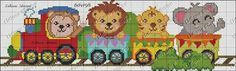 X Le Point, Margaritas, Betty Boop, Toddler Towels, Train, Cross Stitch Embroidery, Monkey, Giraffe Illustration, Baby Things