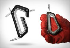 Rachel, you'd like this. CLICK SNOWBOARD CARABINER | Image