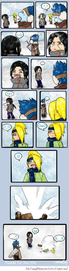 Deidara & Snow!