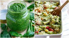 špenátové pesto cover Pesto, Chutney, Cantaloupe, Fruit, Dressing, Food, Cover, Essen, Meals